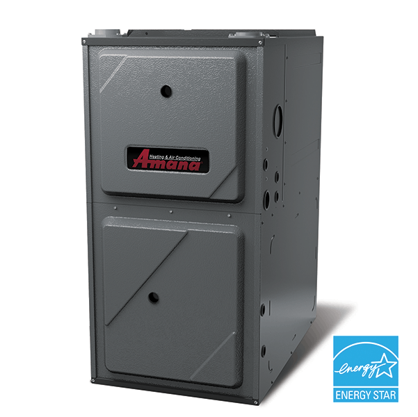 Amana AMEC96 gas furnace.