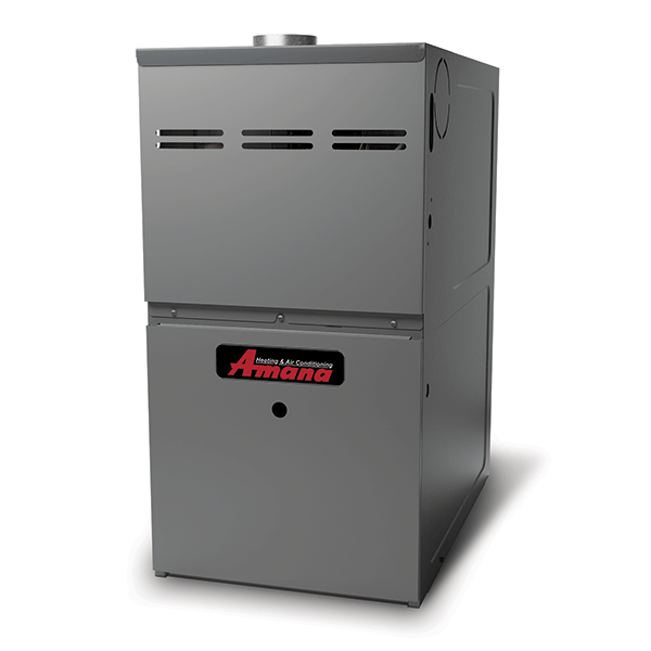 Amana AMEH8 gas furnace.