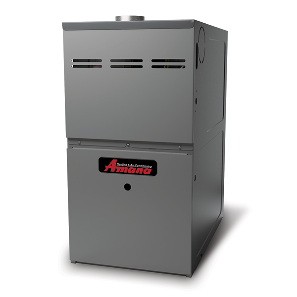 Amana AMH8 gas furnace.