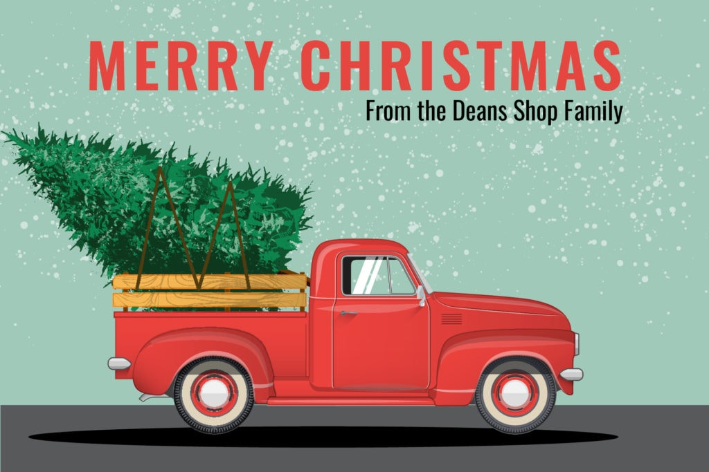 2018 Merry Christmas Dean's Shop.