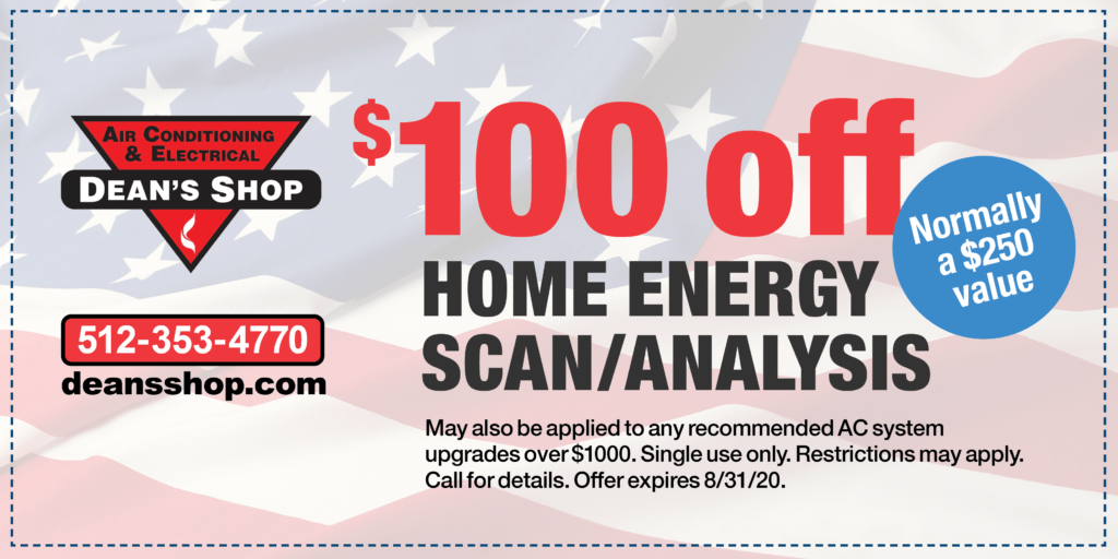 $100 off home energy scan/analysis coupon