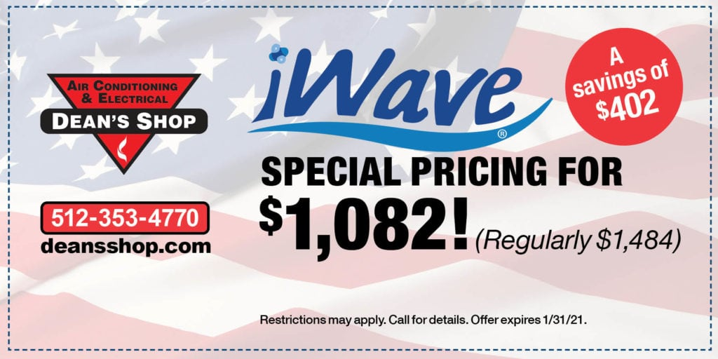 Dean's Shop iWave coupon